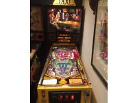 Williams TAXI pinball machine Rare Marilyn Limited Edition