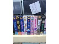 Elvis VHS tapes