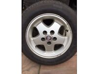 "Set of 4 16"" Jagur XJ6 Alloy wheels"