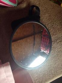 Rear facing car seat mirror