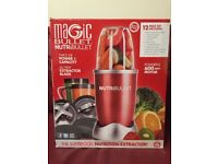 Nutri Bullet 600 12 Piece Set Red