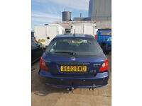 2003 HONDA CIVIC IMAGINE 1.7 DIESEL breaking for parts only all parts available postage nationwide
