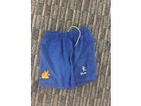 Blue Bangor Grammar Games Shorts