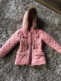 Girls Firetrap coat 5-6