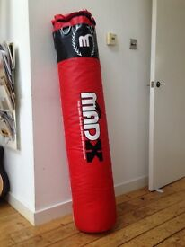 Punch bag, wraps and skipping rope