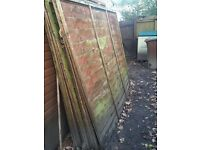 FREE FENCE PANELS AND PLYWOOD