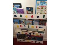 Tidy Books children's alphabet bookcase, £75, as new