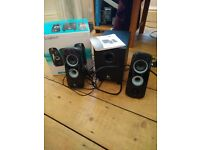 Logitech z323 Stereo Speakers and Subwoofer