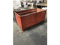 Wanted!! Steel stillage type bins/ containers