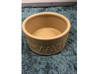 Large ceramic dog bowl by mason cash excellent condition. Drayton