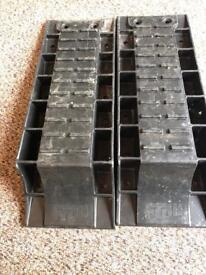 Pair of Froli levelling ramps for motorhome/caravan/canpervan