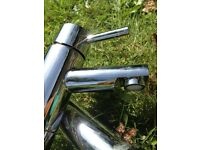 Pair Taps - Hudson Reed Solid Stainless Steel, Brand NEW