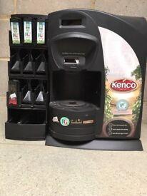 Kenco Singles Coffee Machine with dispenser