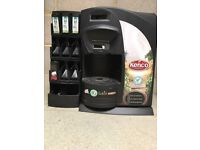 Kenco Singles Coffee Machine with dispenser