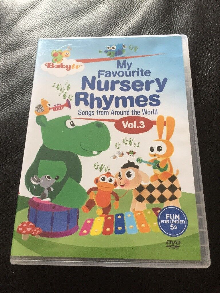 Baby Tv My Favourite Nursery Rhymes Vol 3 Dvd