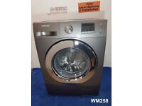 WM258- Samsung Eco Bubble 7kg 1400 Spin Washing Machine with warranty can be delivered or collected