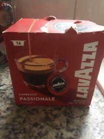 16 Coffee Lavazza Capsules