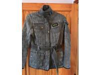 Quilted Barbour International Ladies Jacket