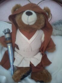 Build A Bear - Limited Edition Star Wars Obi-Wan Kenobi Build A Bear