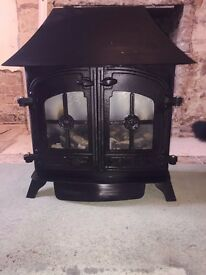 Yeoman Gas Stove Fire