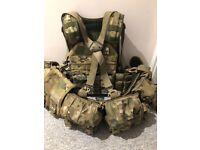 HSGI Taco / Webbing / SOLO Plate Carrier / loads of HSGI pouches etc ex British Army
