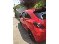 Corsa Vxr 2009 red 59.000 miles part x swap