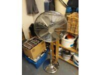Art Deco Style large standing fan £20ono