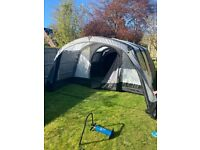 Brand new Hayling 6 inflatable 6 man tent