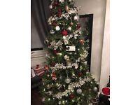 Dobbies pre-lit Christmas tree - stunning