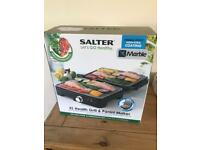 Salter Marble XL health Grill and Panini maker