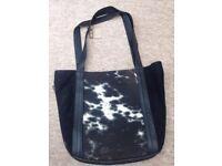 Brand new leather Nguni handbag