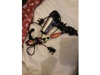 FULLY WORKING EXCELLENT CONDITION HAIRDRYER AND STRAIGHTENERS