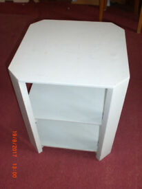 Small painted hexagonal table