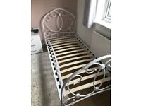 single bed with mattress delivery available