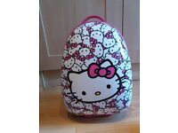 Hello Kitty Hard Shell Rolling Luggage Case