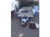 BARGAIN INDESPENSION 8ft x 4ft TRAILER