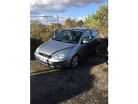 2003 Ford Focus Zetec 3 dr hatchback low mileage 1 years mot in vgcondition px welcome any trial