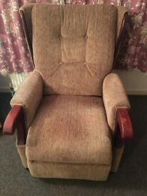 Rise and Recline Chair - extremely clean condition