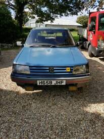 Peugeot 309 Rolling project