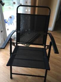 Garden recliner folding chairs