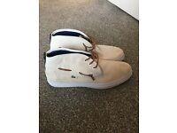 Mens Lacoste shoes size 10