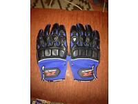 Gsxr racing stunt gloves.