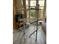 Dry Soon heated airer - with cover