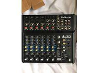Brand New Box Alto ZEPHYR ZMX122 FX 8-Channel