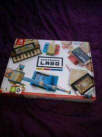 Nintendo Labo variety kit. New and sealed.