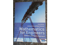 Mathematics for Engineers, 3rd Edition by Croft/Davison, Perfect Condition