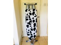 Large heavy weight ironing board ideal for the steam irons