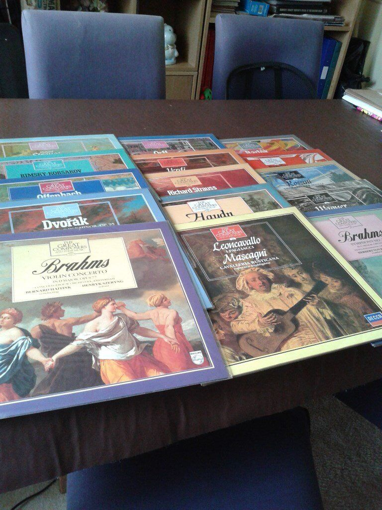 GREAT COMPOSERS COLLECTION IN VINYL