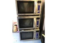 3No. Merrychef MD1800 Commercial Microwaves
