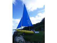 Laser Pico No 4735 for sale. Good condition and ready to sail.